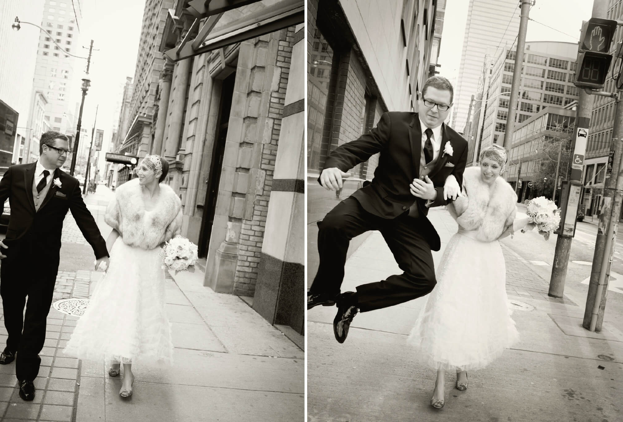 downtown toronto wedding photo