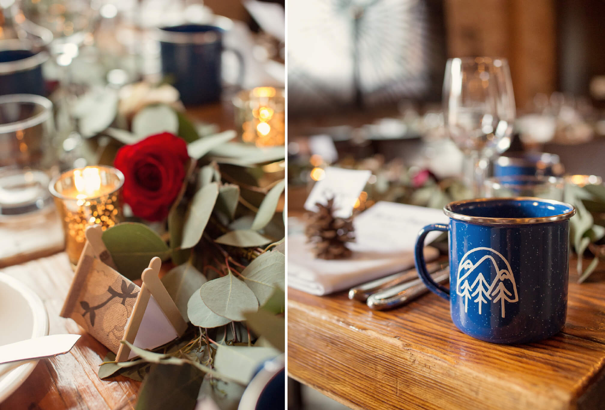 adventure inspired wedding decor toronto