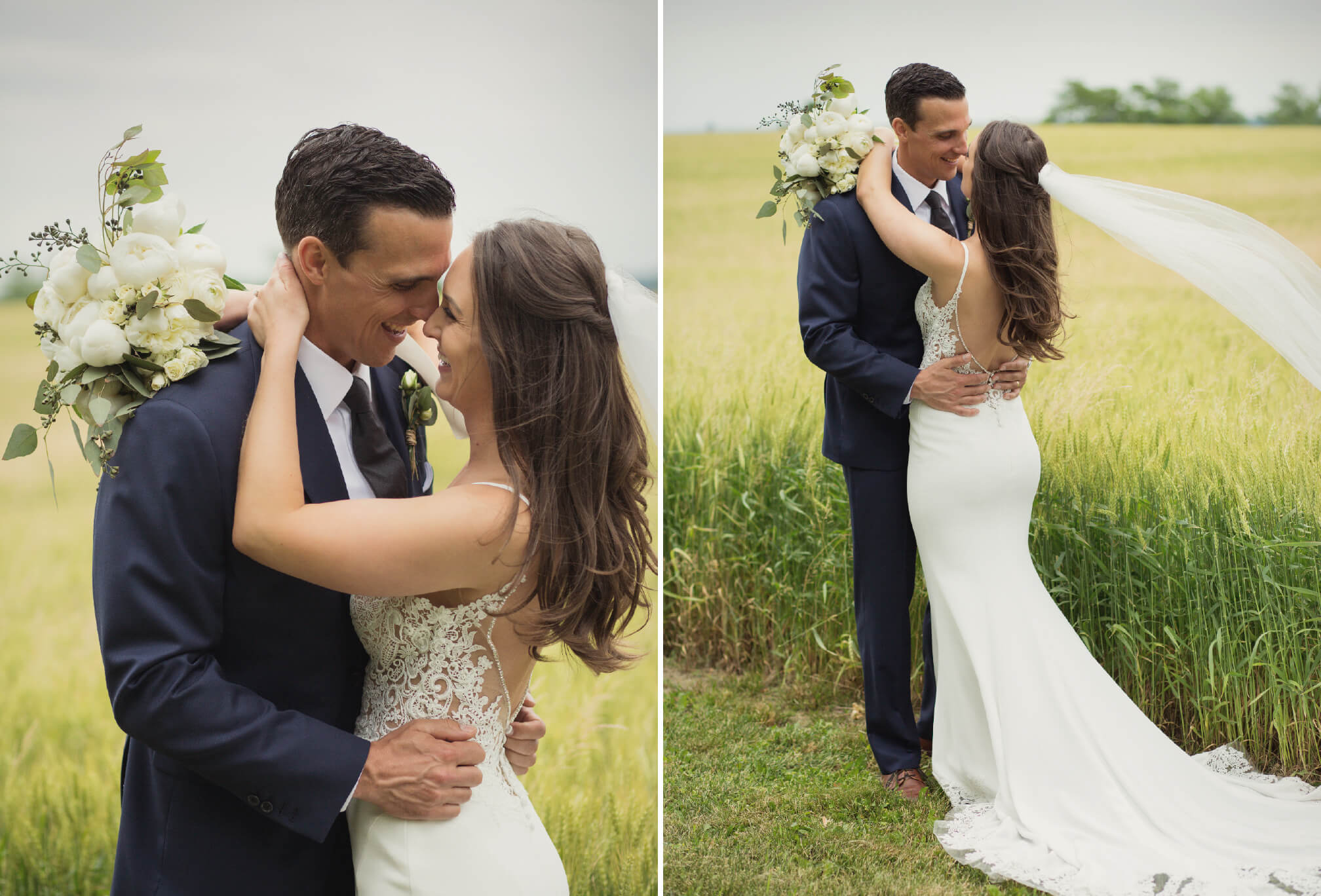 dyments farm bride and groom wedding