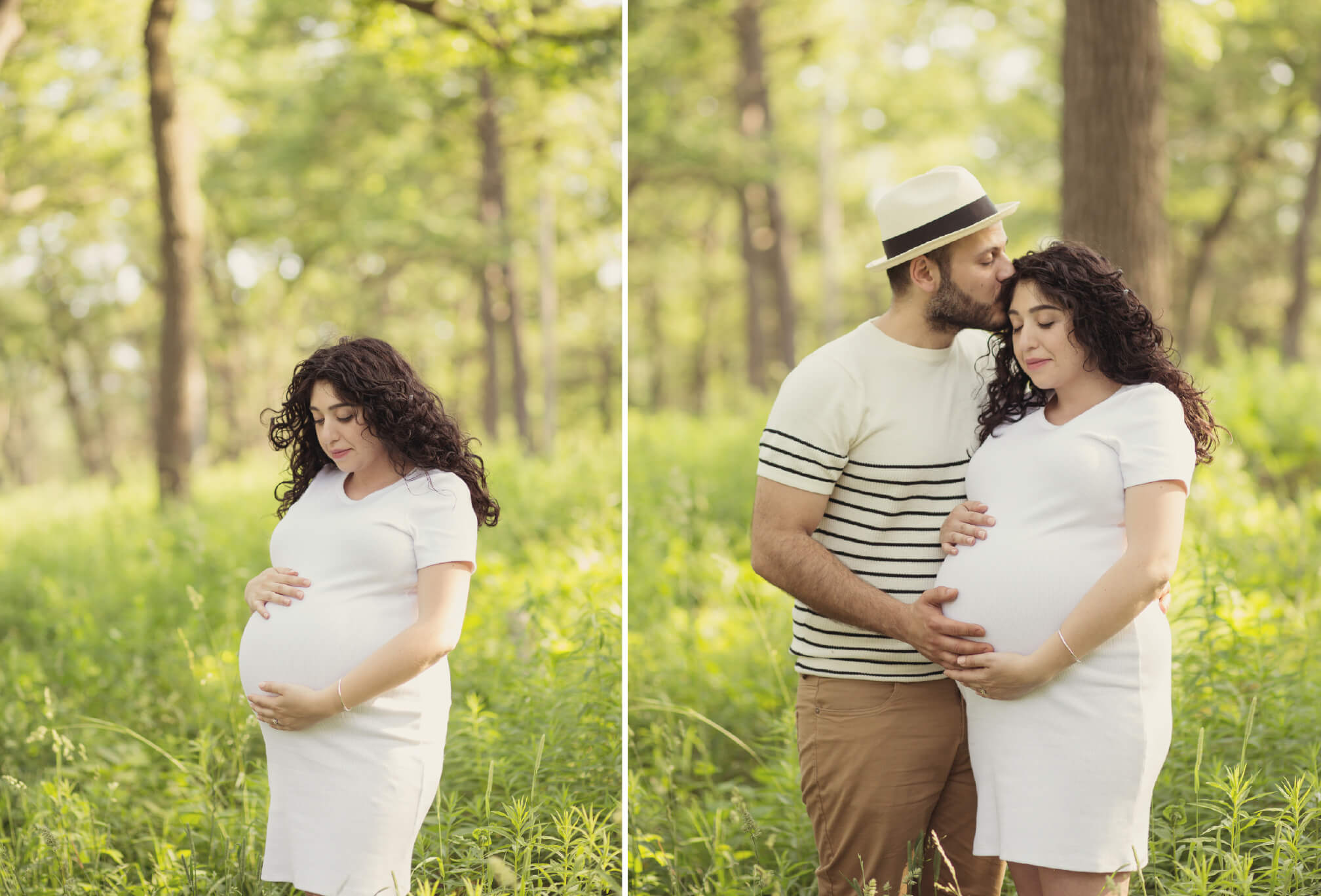 pretty pregnancy photos in high park