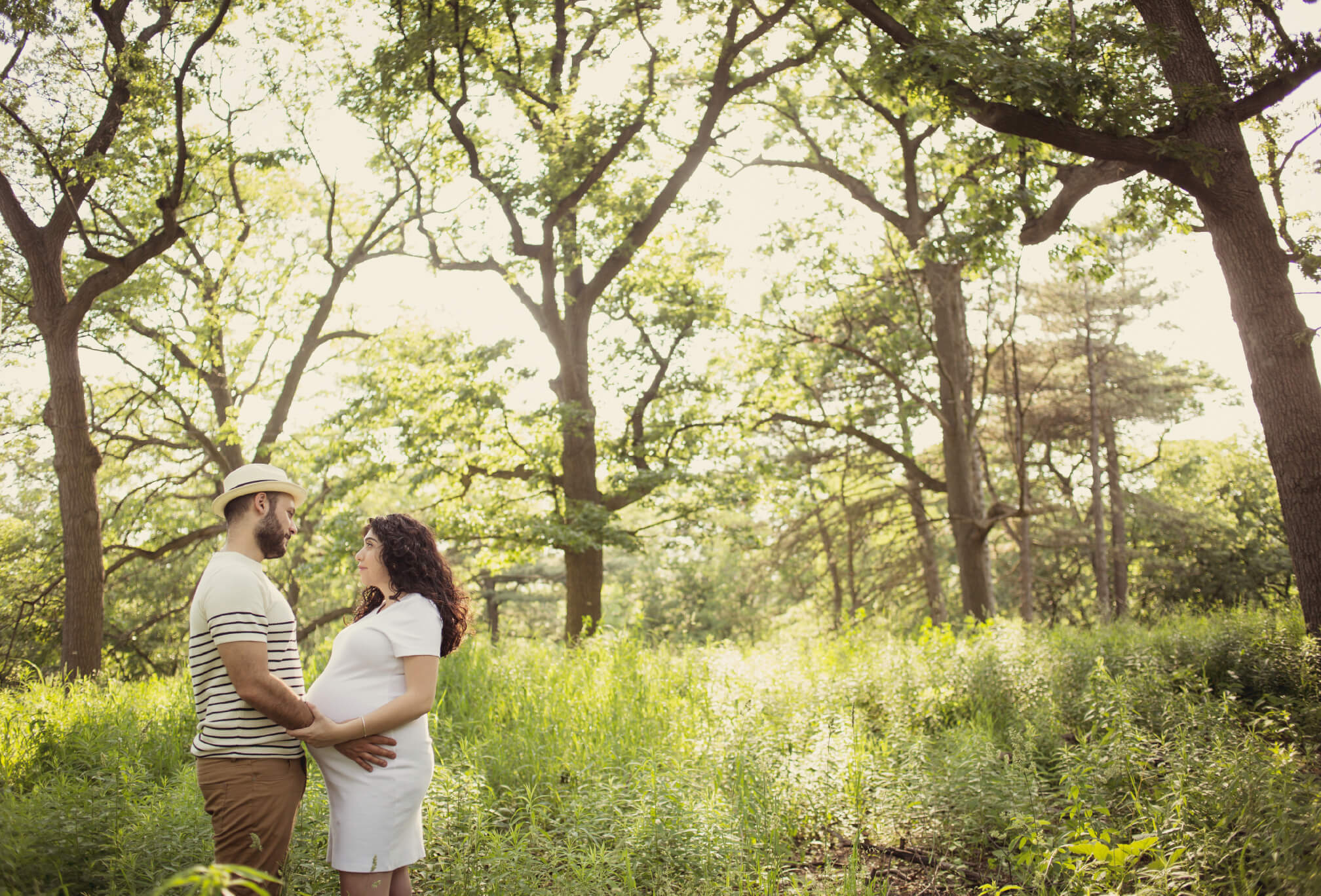 high park maternity session