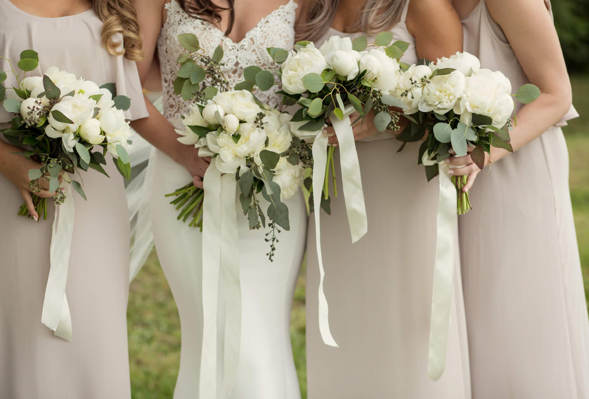 bridesmaids farm wedding