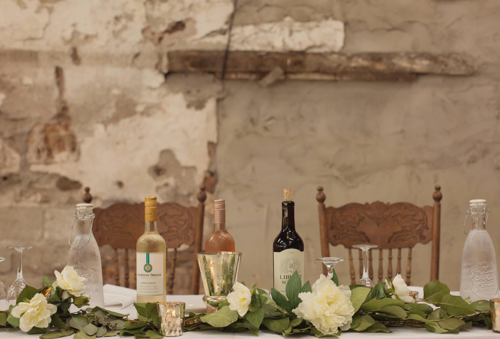 reception details dyments farm wedding