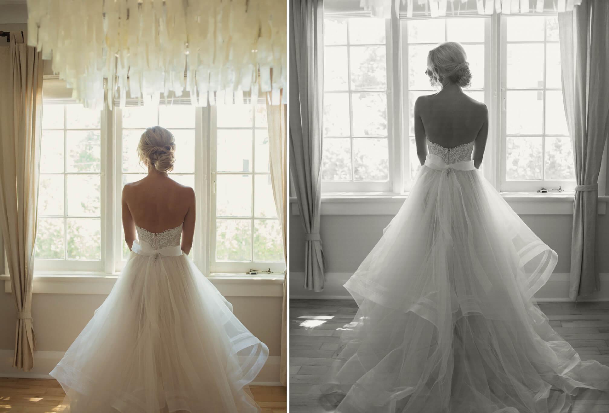 beautiful candid bride image
