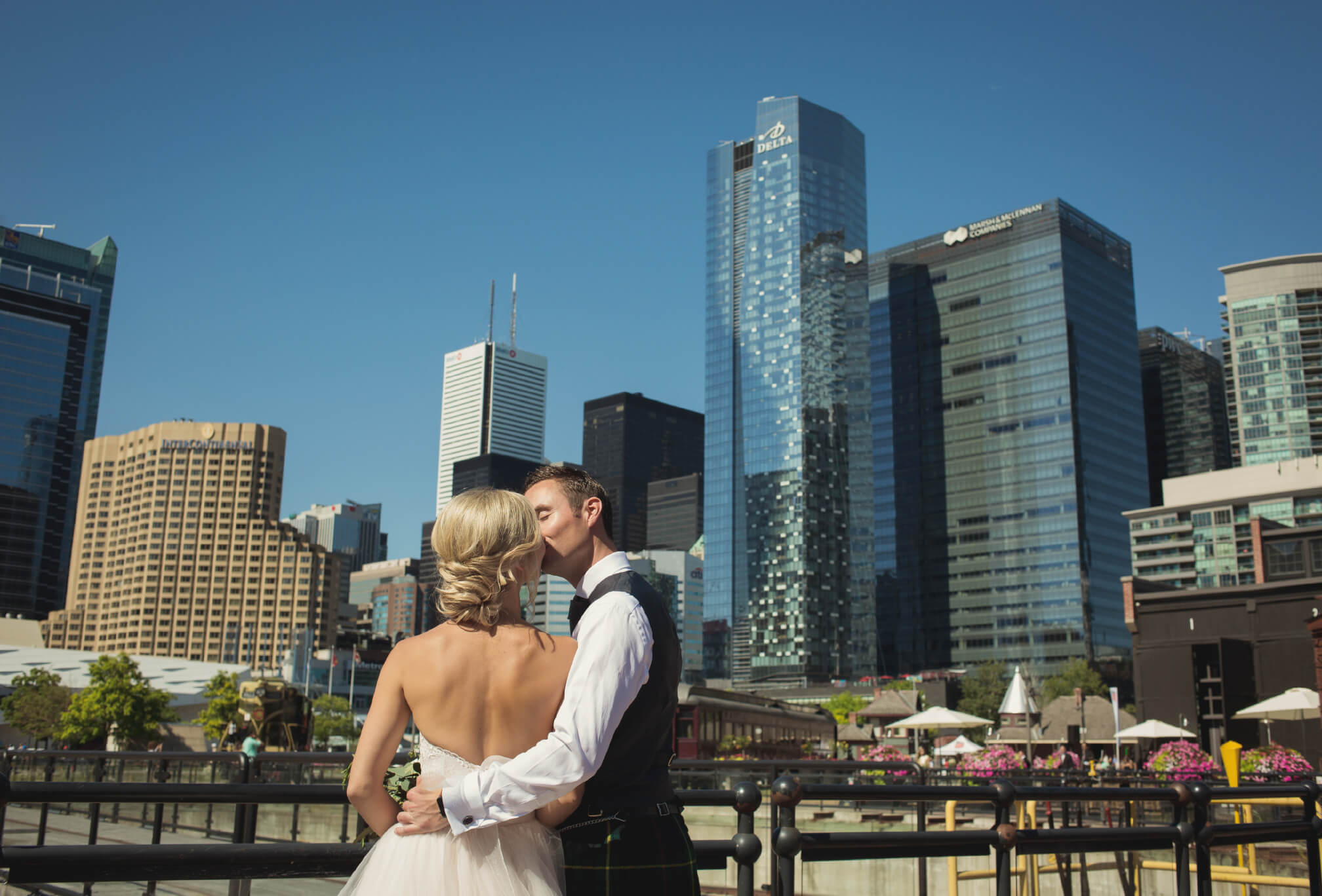 wedding photos at steam whistle