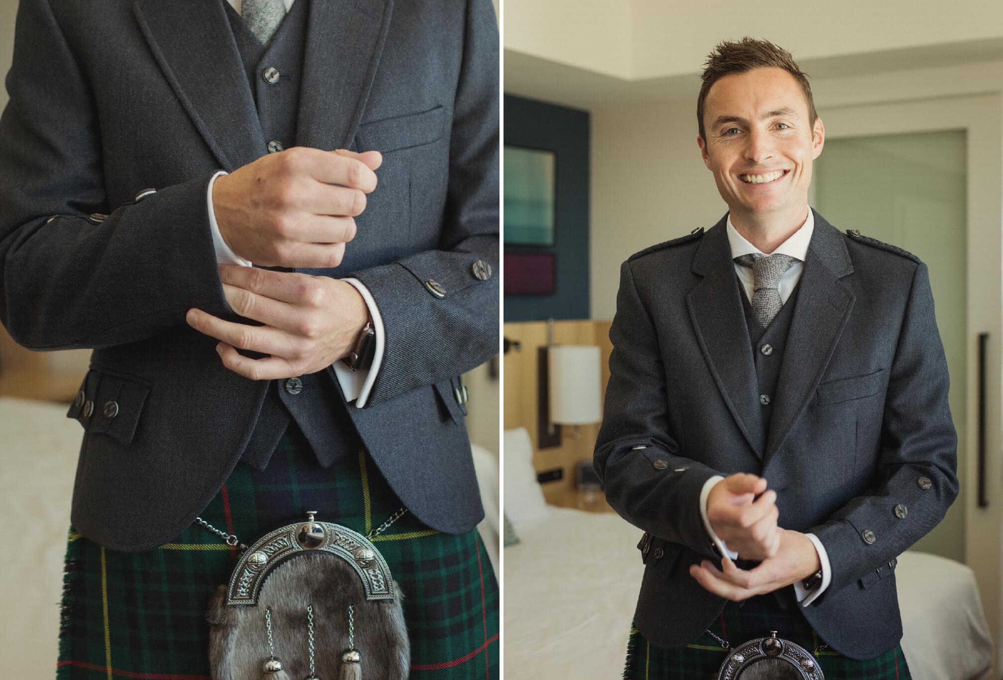groom in kilt toronto