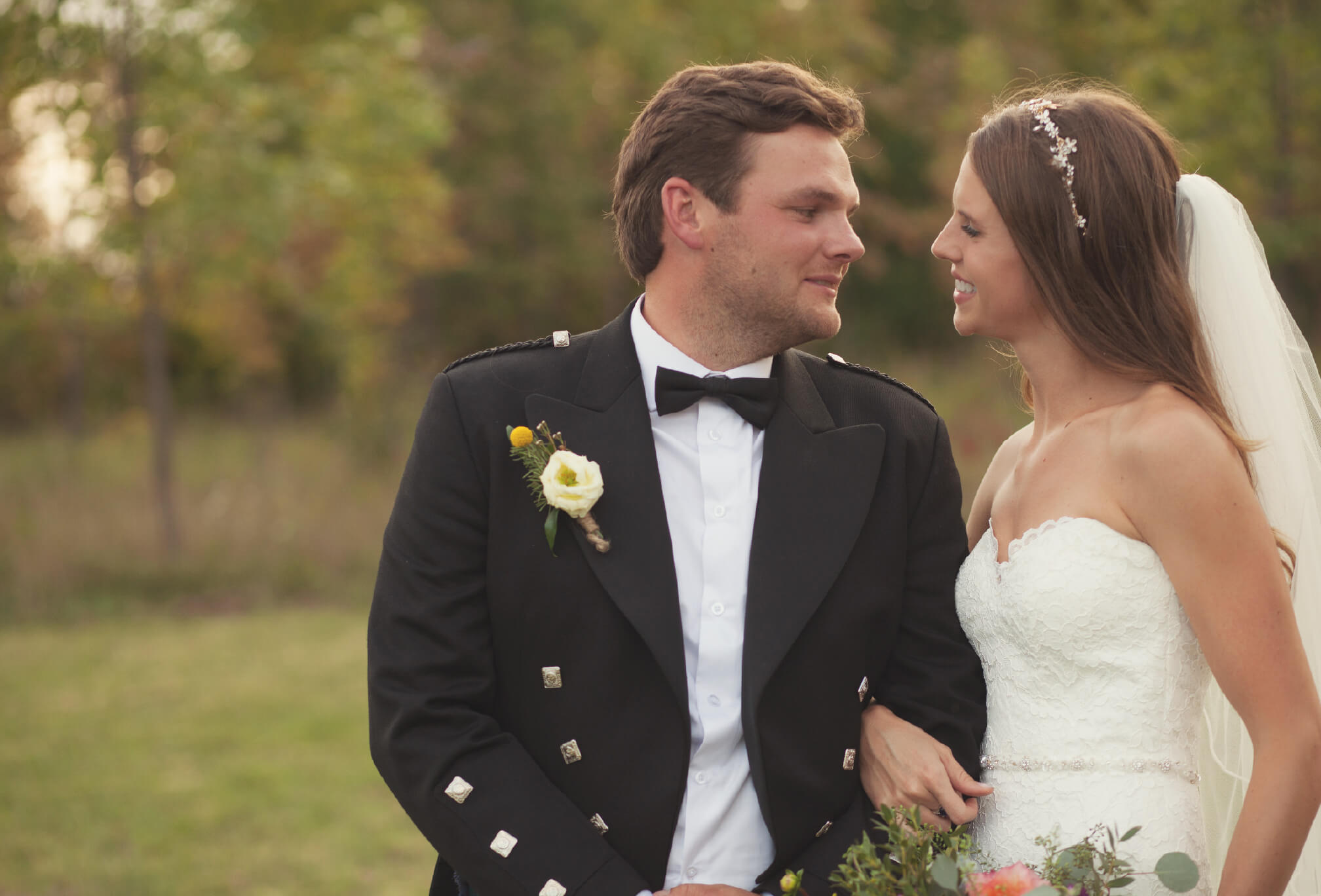 bride and groom farm wedding beaver valley