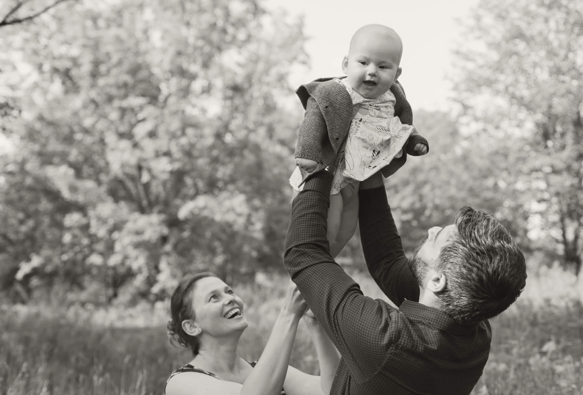 candid family photography in toronto