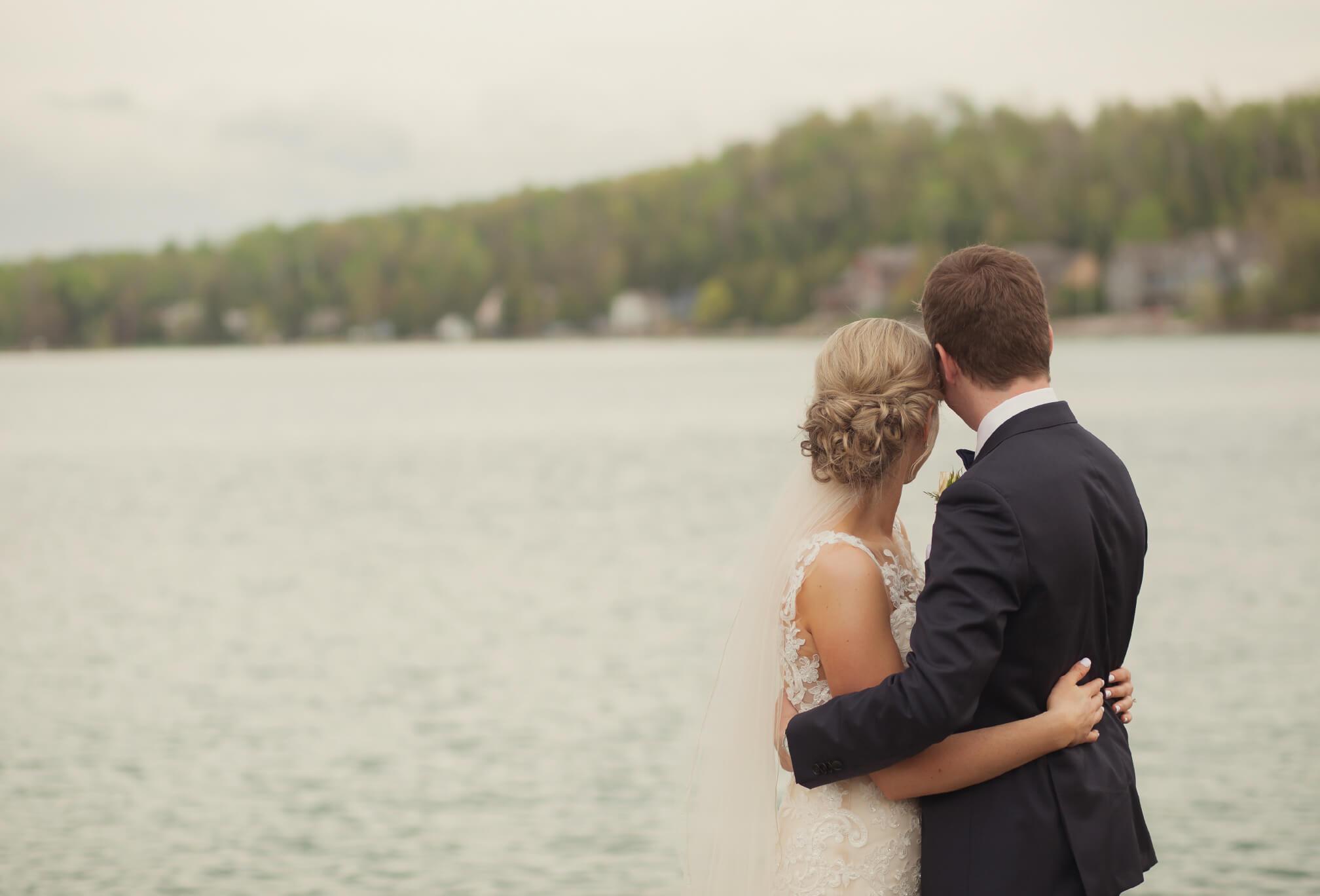 wedding at Lora Bay
