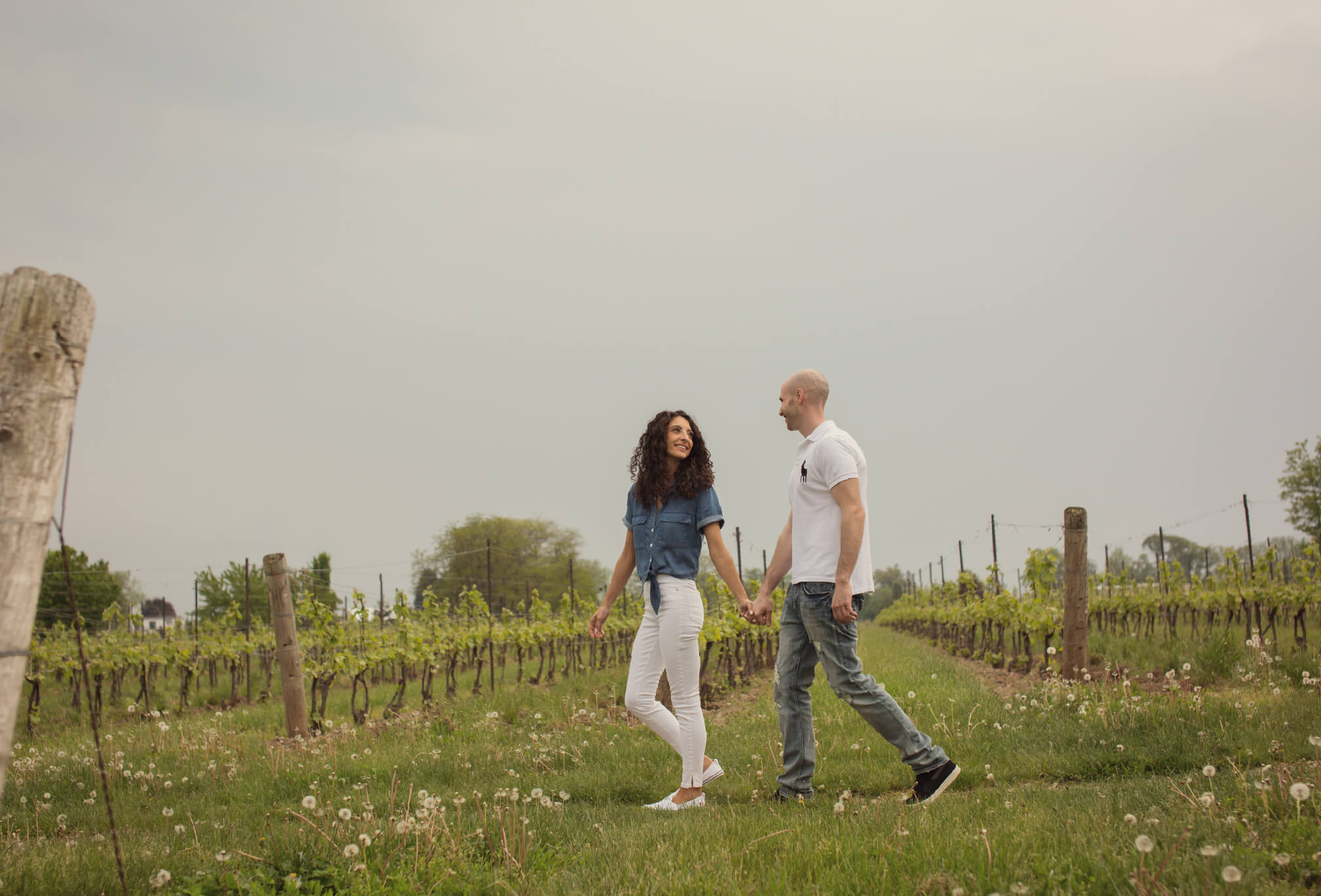 two sisters winery engagement