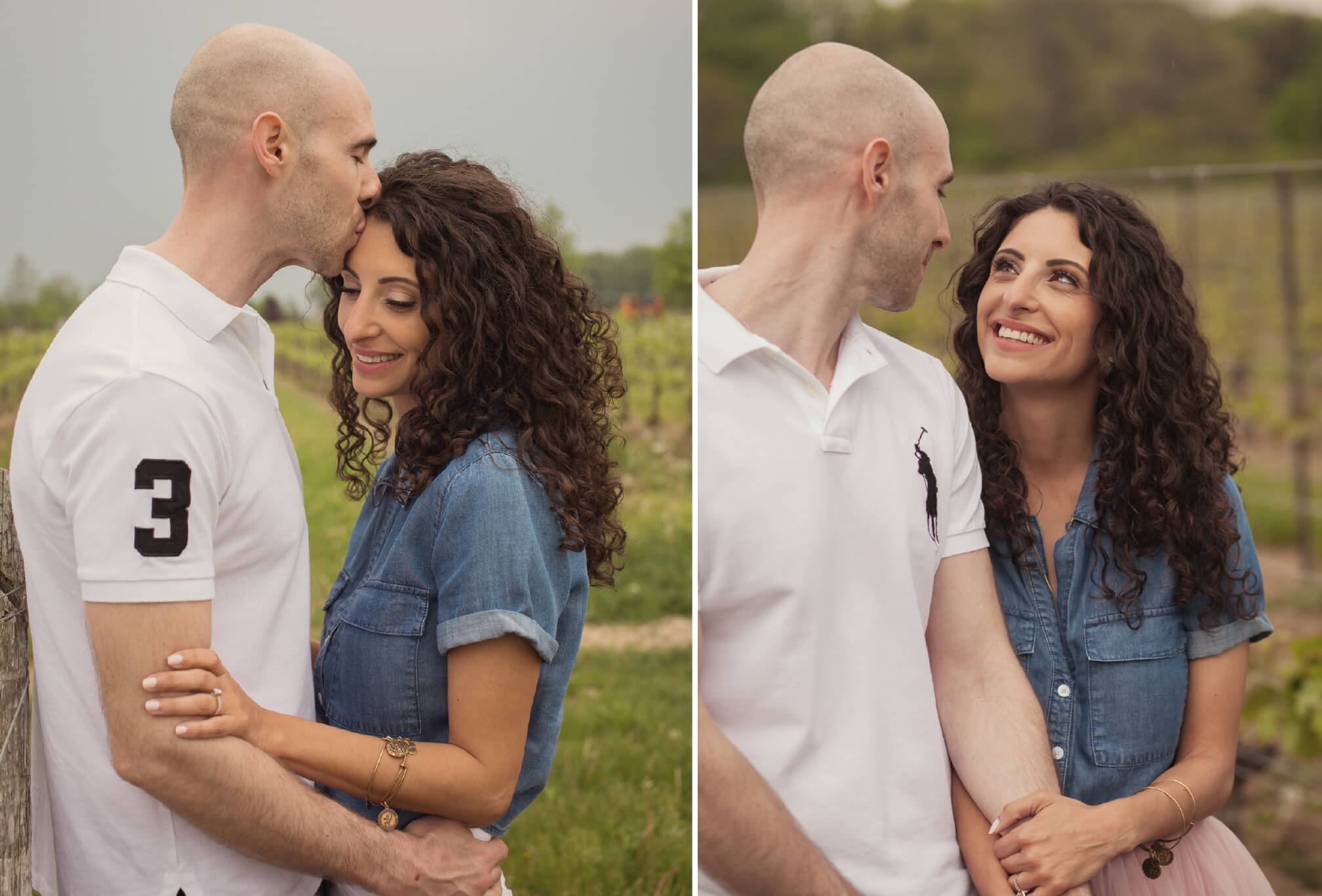 niagara winery engagement session