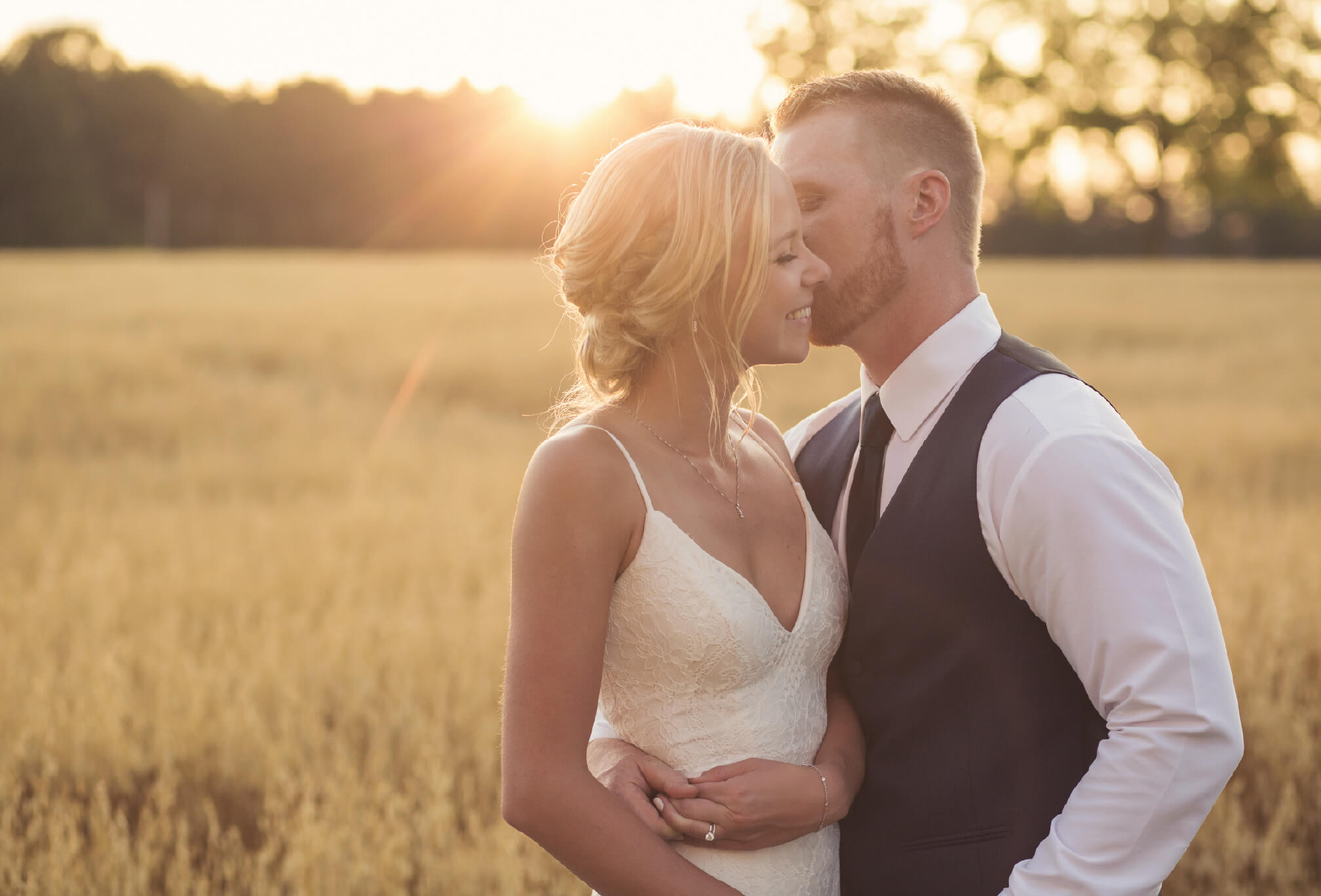 rustic wedding sunset ontario