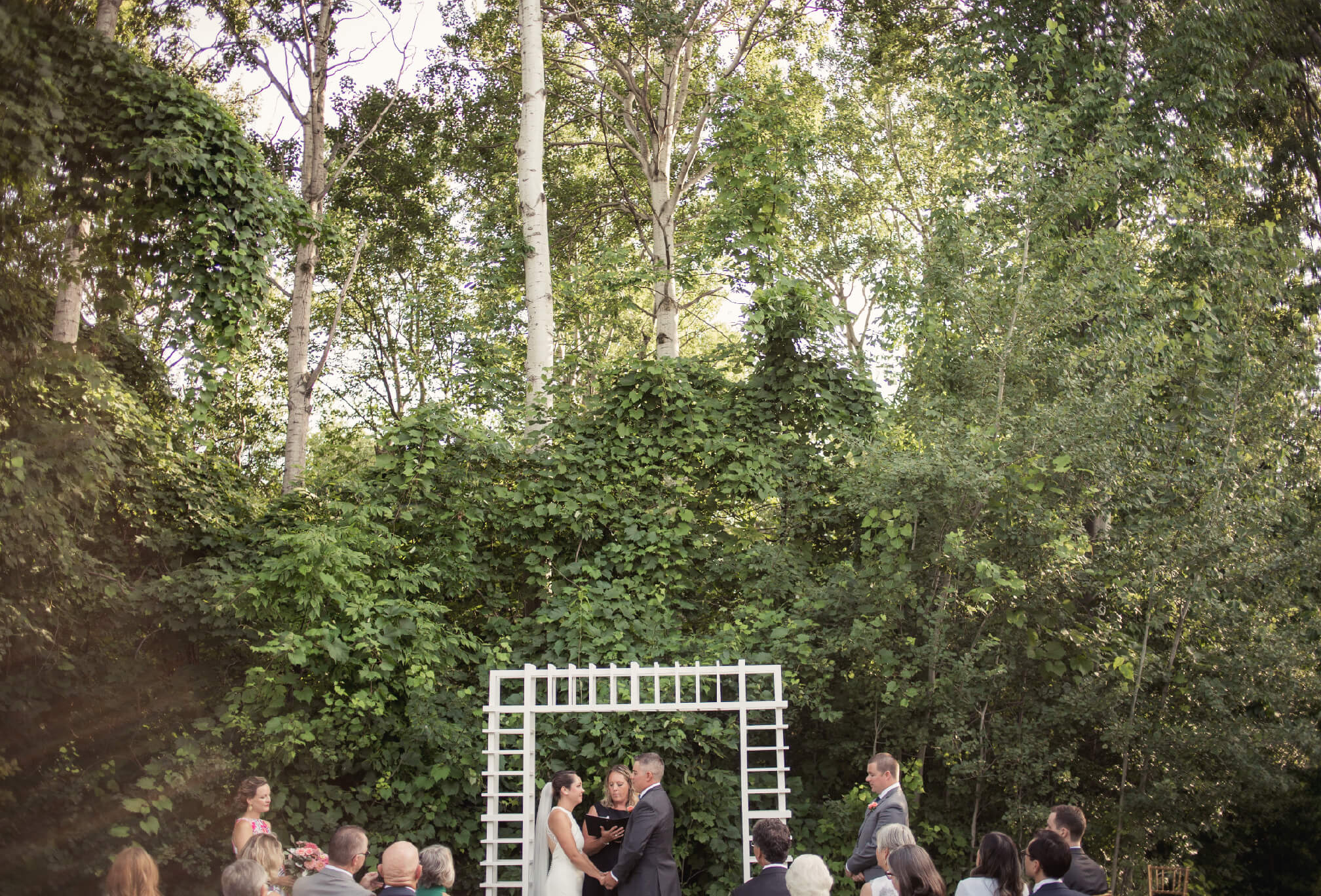 backyard ceremony ideas